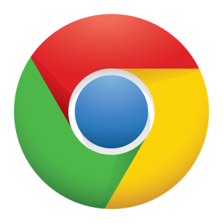 Chrome logo for iOS
