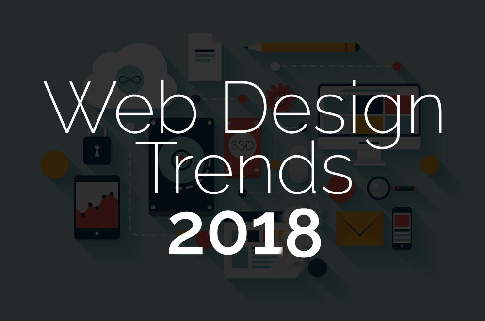 elements of a Modern web design 2018