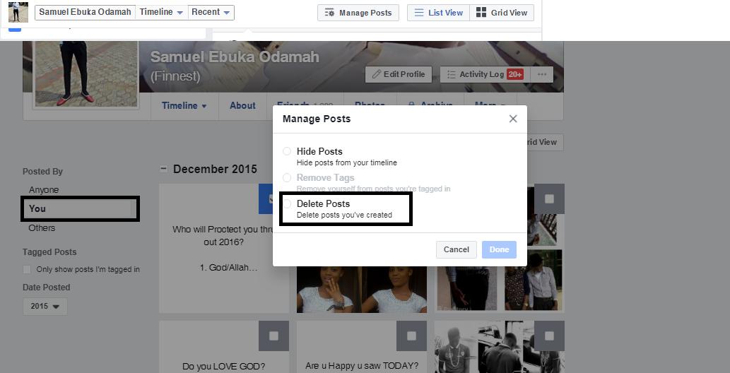 Facebook new feature