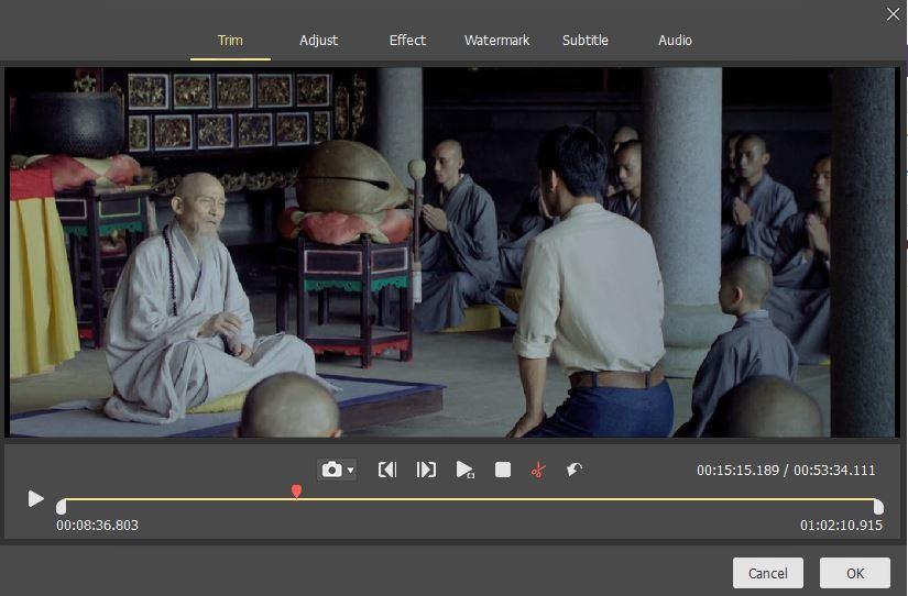 Tuneskit video cutter for Windows