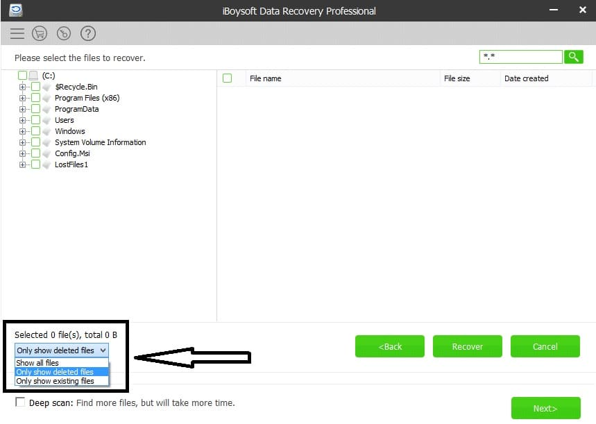 iBoysoft data recovery free