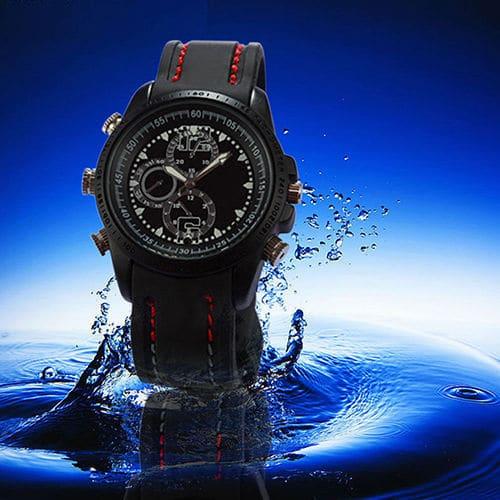 Waterproof Wrist Spy Watch
