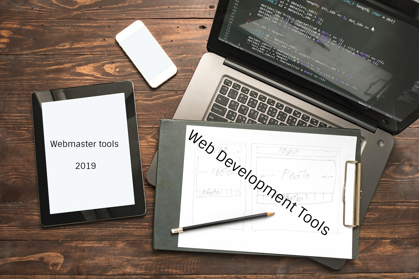web development tools 2019