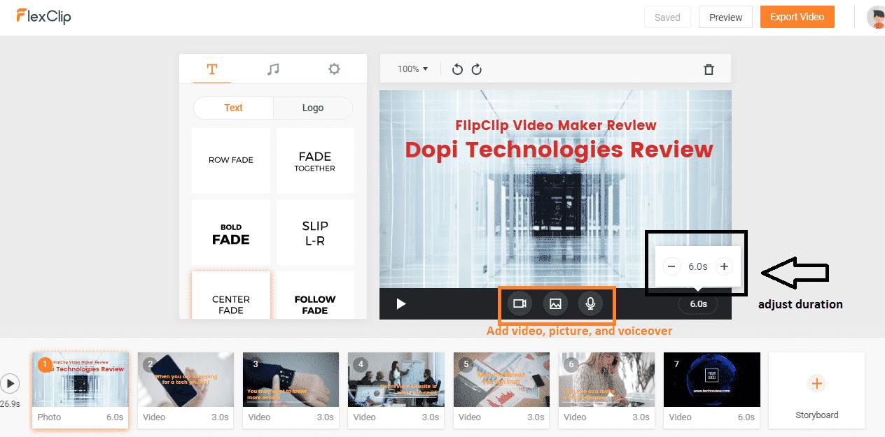 FlexClip Online Video Maker