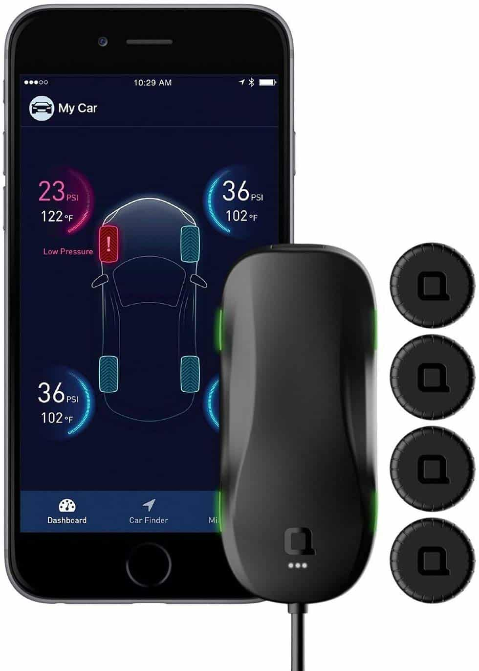 nonda ZUS AccurateTemp Smart Tire Safety Monitor