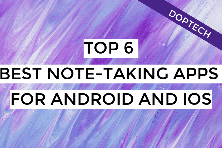 best note taking apps