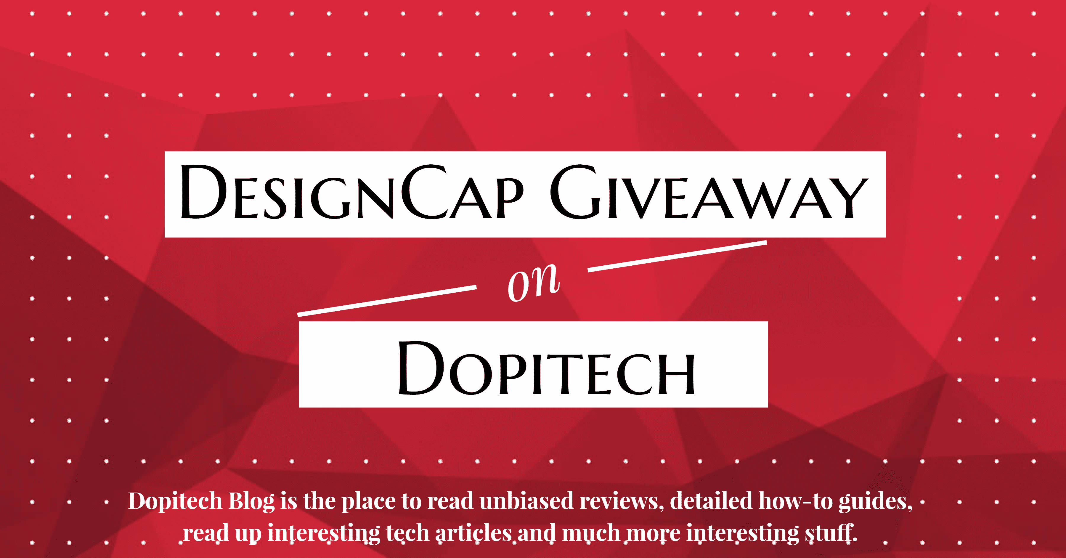 DesignCap Review