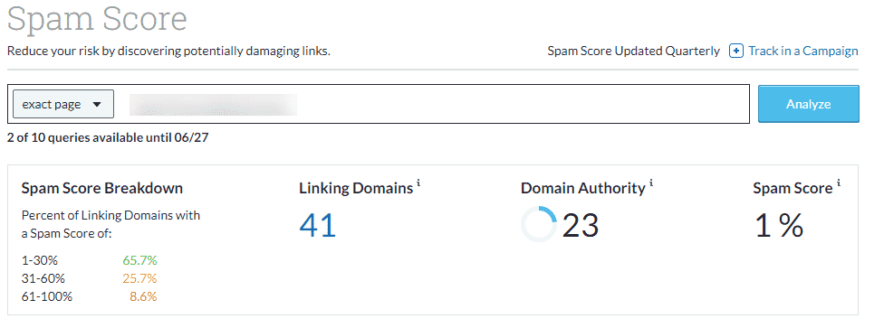 how to remove spam backlinks