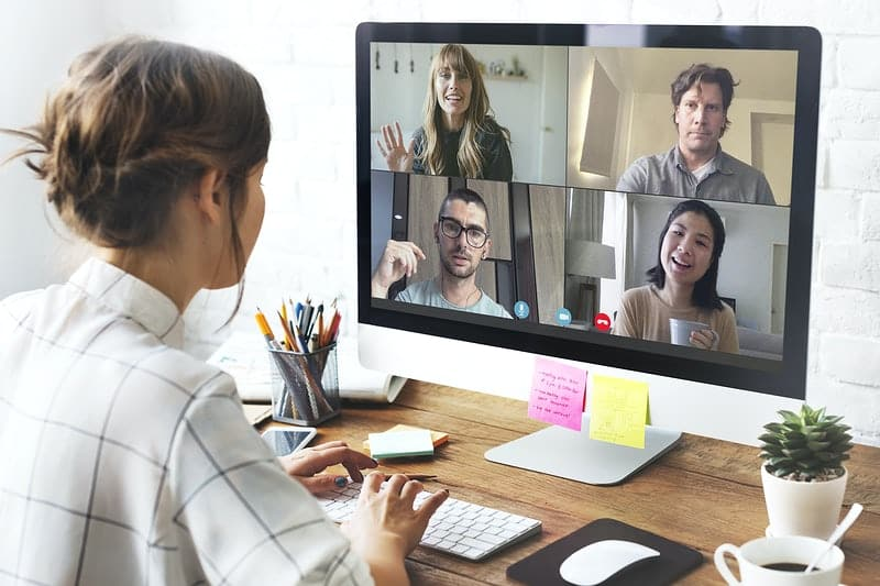 remote business meetings